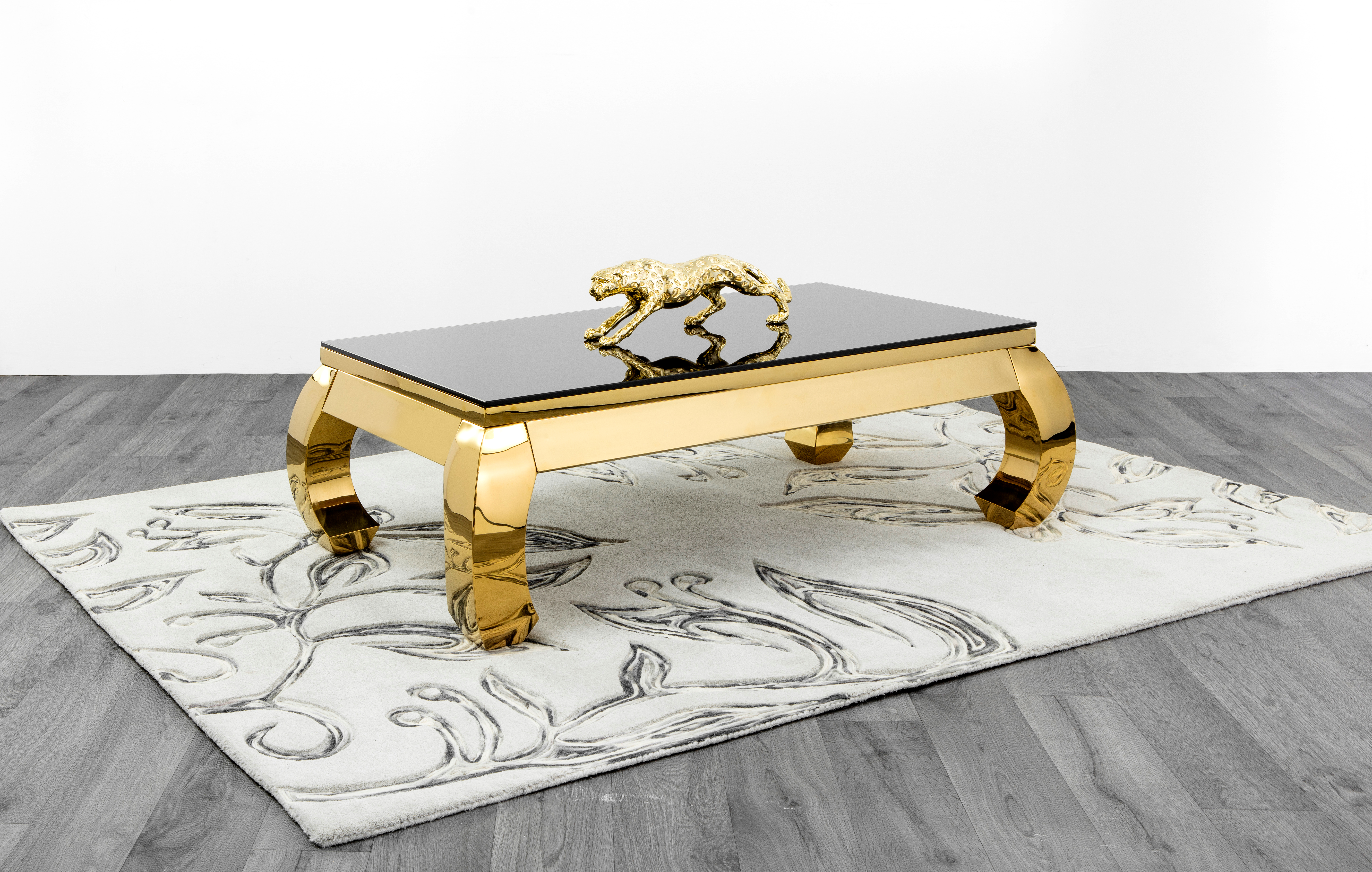 bd70c37892f0b W7-Leo Gold, Coffee Table Only - Bed Mattress Furniture Warehouse