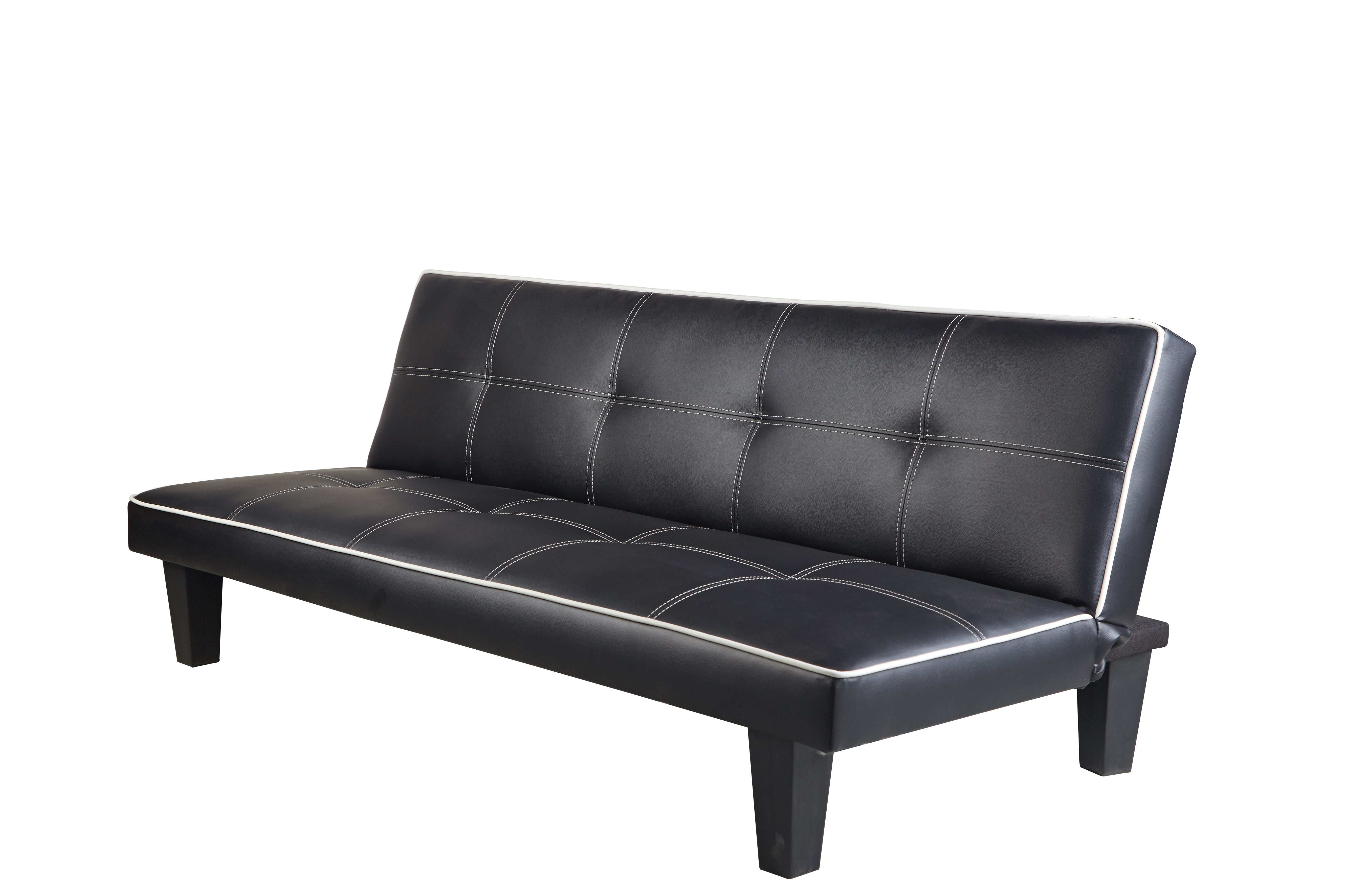 new style a95f0 f1172 W7-JACK Faux Leather Sofabed